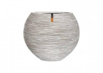 meble na taras nowoczesne: Donica ogrodowa z cementu OFI271 48cm