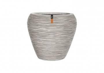 meble na taras nowoczesne: Donica ogrodowa z cementu OFI363 51cm