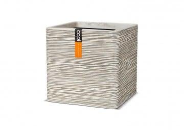 ekskluzywne meble: Donica ogrodowa z cementu OFI903 41cm
