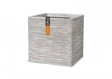 meble na taras nowoczesne: Donica ogrodowa z cementu OFI903 41cm