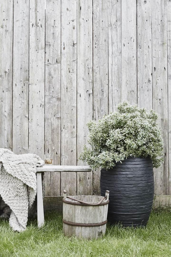 Donica ogrodowa z cementu OFI935 51cm