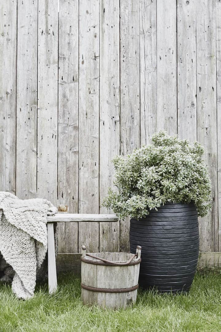 Donica ogrodowa z cementu RWG903 40cm