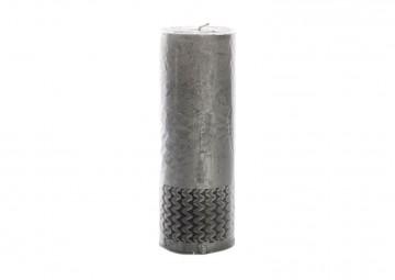 Świeca srebrna 20cm