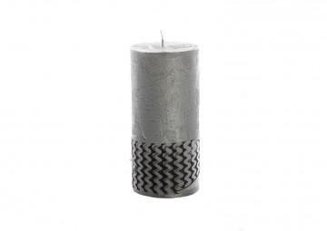 Świeca srebrna 15cm