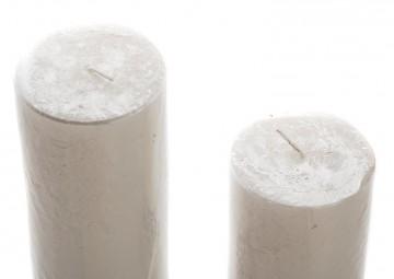 Zestaw 2 świec perłowych