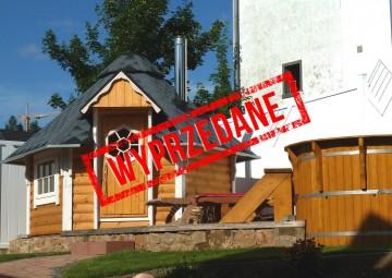Domek drewniany - sauna 4,5m2 bez piecyka