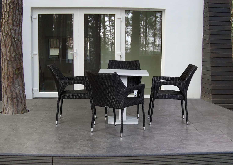 Zestaw stół ogrodowy VIGO + krzesło Lisa