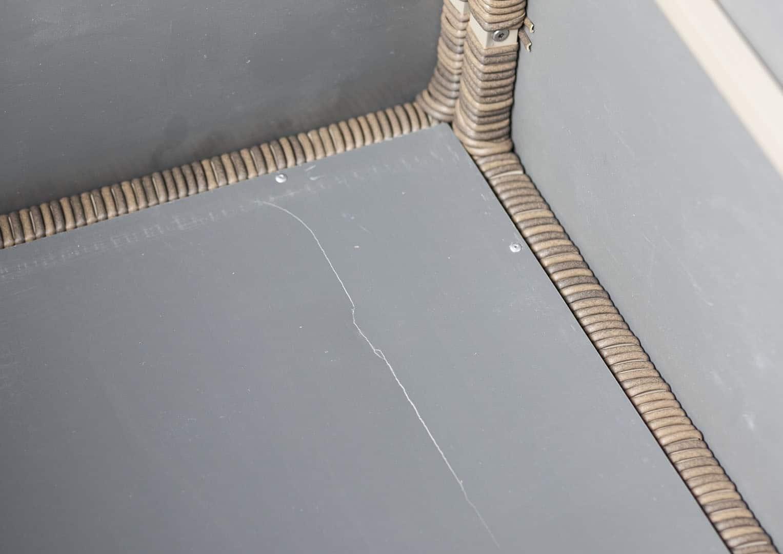 Skrzynia ogrodowa 160cm SCATOLA Royal piasek 1 OUTLET