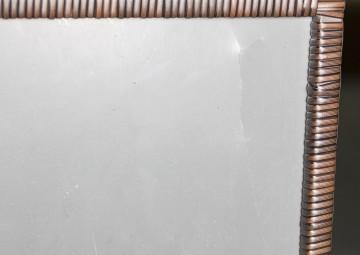 Skrzynia ogrodowa 100cm SCATOLA Modern brąz 2 OUTLET