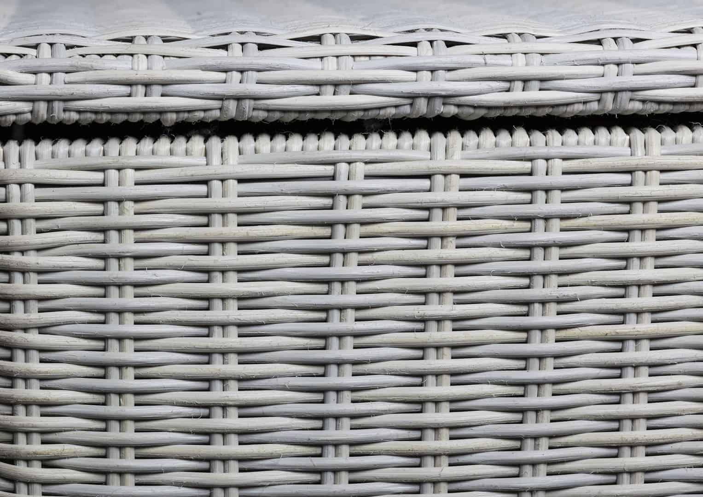 Skrzynia ogrodowa 100cm SCATOLA Royal biały 1 OUTLET