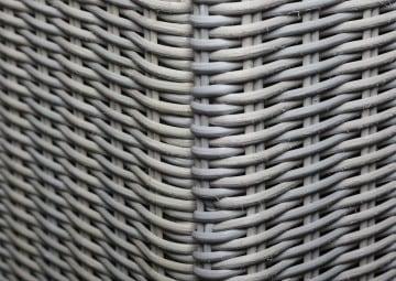 Skrzynia ogrodowa 100cm SCATOLA Royal biały 2 OUTLET