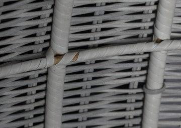 Huśtawka ogrodowa KOKON Royal biały 3 OUTLET