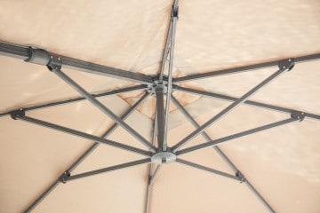 Parasol ogrodowy Solarflex T² 3 x 3 Taupe 2 OUTLET