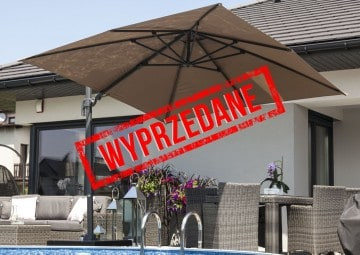 Parasol ogrodowy Solarflex T² 3 x 3 Taupe 3 OUTLET