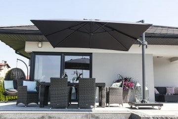 Parasol ogrodowy Solarflex T² 3 x 3 Antracite 1 OUTLET