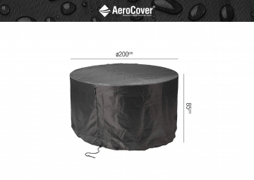 Pokrowiec okrągły na meble ogrodowe ø200x85cm