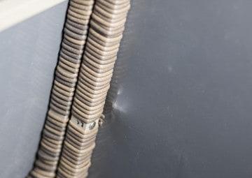 Skrzynia ogrodowa 160cm SCATOLA Royal piasek 3 OUTLET