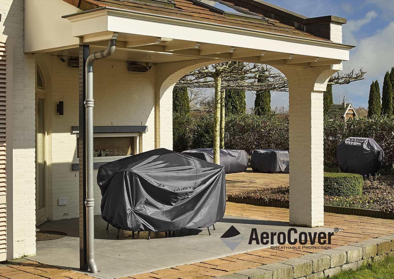 Pokrowiec kwadratowy na zestaw ogrodowy 235x235x70cm