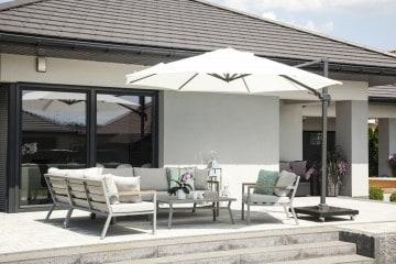 Parasol ogrodowy Solarflex T² Ø3,5 White 1 OUTLET
