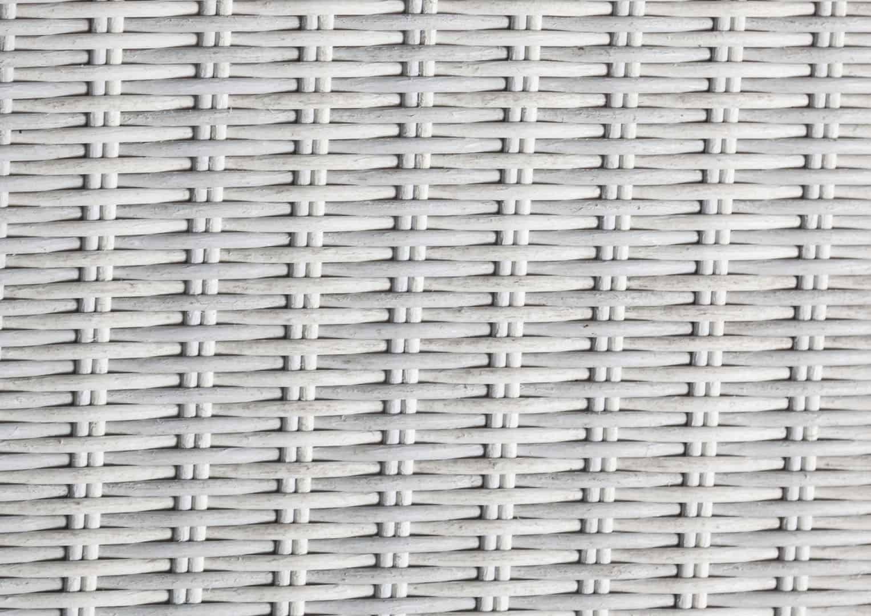 Leżak ogrodowy MARA  Royal biały 2 OUTLET