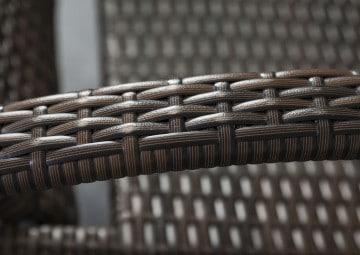 Leżak ogrodowy GRAZIA Modern brąz OUTLET