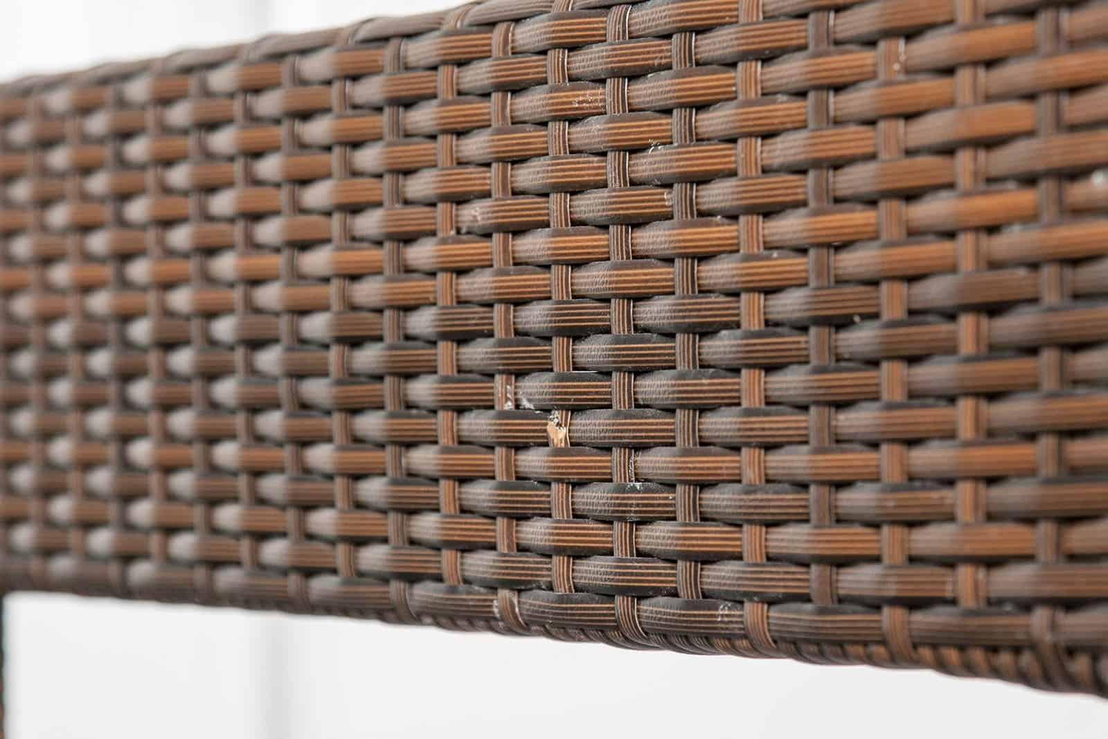 Zestaw mebli ogrodowych PRATO Modern brąz OUTLET