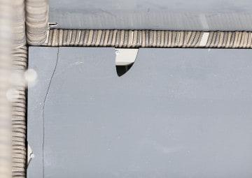 Skrzynia ogrodowa 100cm SCATOLA Royal piasek 3 OUTLET