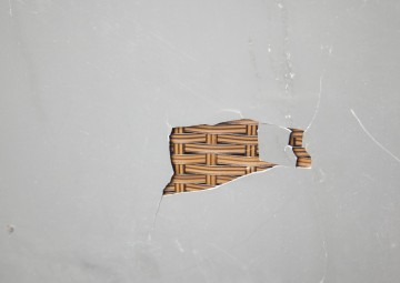 Skrzynia ogrodowa 100cm SCATOLA Modern brąz 7 OUTLET