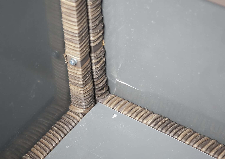 Skrzynia ogrodowa 100cm SCATOLA Royal brąz 3 OUTLET