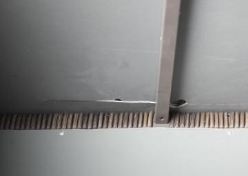 Skrzynia ogrodowa 100cm SCATOLA Royal brąz 5 OUTLET