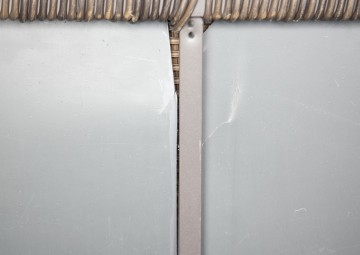 Skrzynia ogrodowa 100cm SCATOLA Royal brąz 7 OUTLET