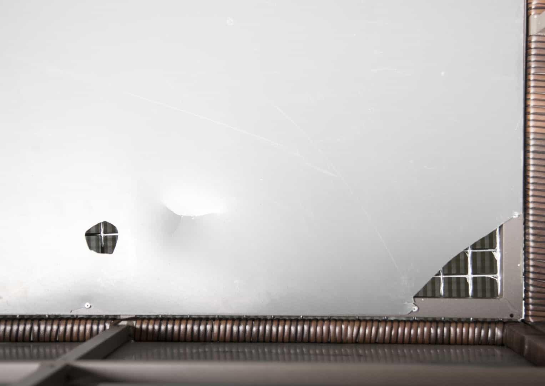 Skrzynia ogrodowa 160cm SCATOLA Modern brąz 5 OUTLET