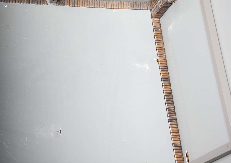 Skrzynia ogrodowa 160cm SCATOLA Modern brąz 6 OUTLET