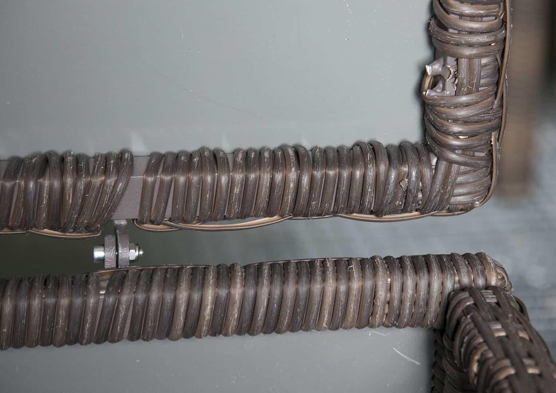 Skrzynia ogrodowa 160cm SCATOLA Royal brąz 4 OUTLET