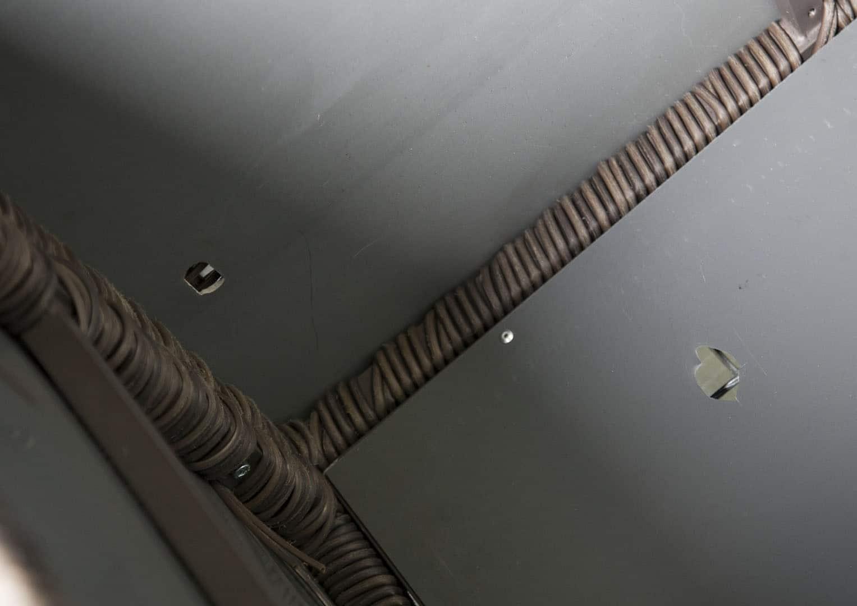 Skrzynia ogrodowa 160cm SCATOLA Royal brąz 11 OUTLET