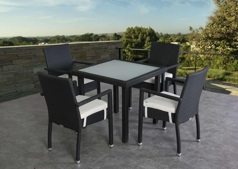 Zestaw stół ogrodowy CAPRI + krzesło MONA