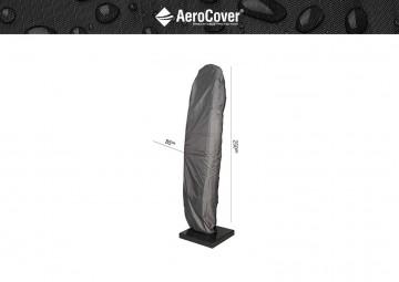 parasol ogrodowy: Pokrowiec na parasol ogrodowy z nogą boczną 250x85cm