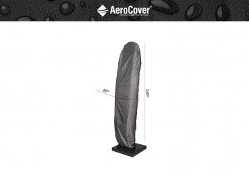 parasol ogrodowy: Pokrowiec na parasol ogrodowy z nogą boczną 240x68cm