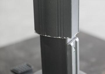 Parasol ogrodowy Solarflex T² Ø3,5 Antracite 2 OUTLET