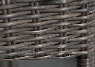Zestaw mebli ogrodowych PRATO 160 cm Royal brąz OUTLET