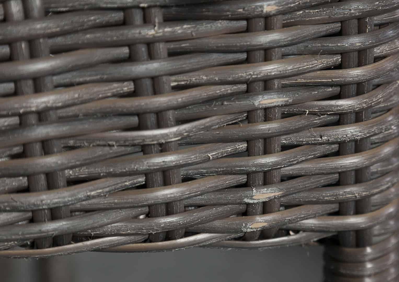 Zestaw mebli ogrodowych PRATO 200 cm Royal brąz OUTLET