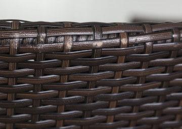 Zestaw mebli ogrodowych PRATO 160cm Modern brąz OUTLET