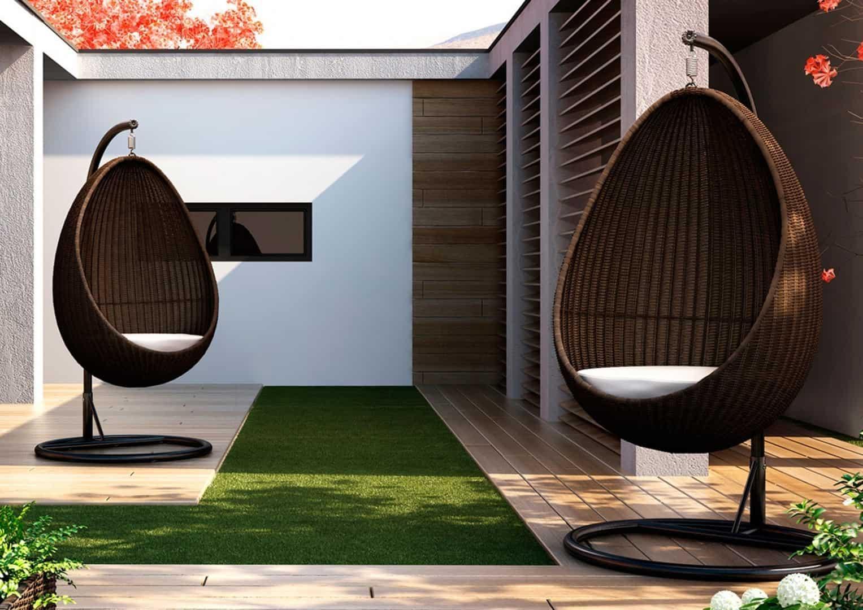 Fotele ogrodowe KOKON