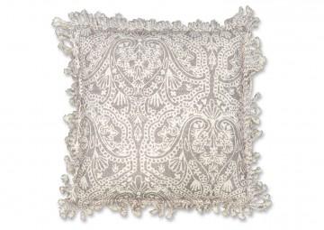 Poduszka dekoracyjna Yfke chateau grey