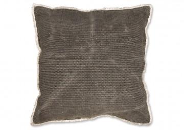 Poduszka dekoracyjna Revi 60x60cm dark grey