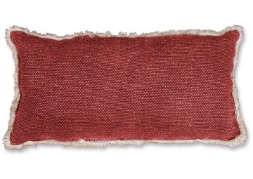 Poduszka dekoracyjna Revi 30x60cm red