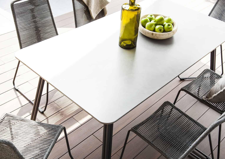 Krzesło ogrodowe i stół ogrodowy SIMI 180cm