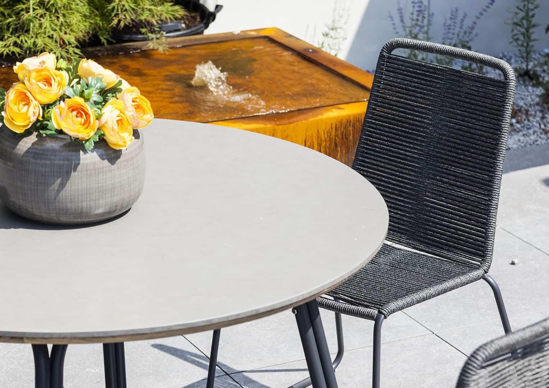 okrągły stół na taras SIMI