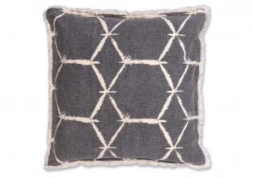 Poduszka dekoracyjna Lexi dark grey