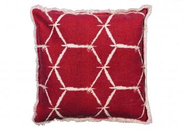 poduszki na taras: Poduszka dekoracyjna Lexi red